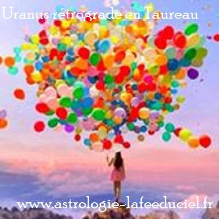 Uranus rétrograde en Taureau