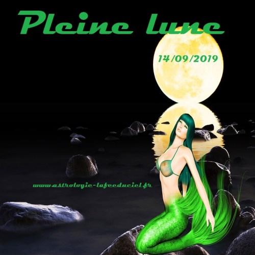 Pleine Lune du 14 Septembre 2019