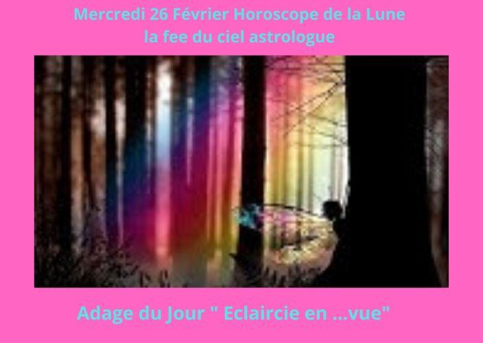 Horoscope de la Lune du 26 Février 2020