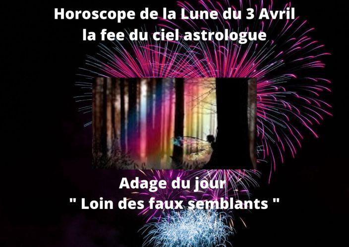 Horoscope de la Lune du 3 Avril 2020