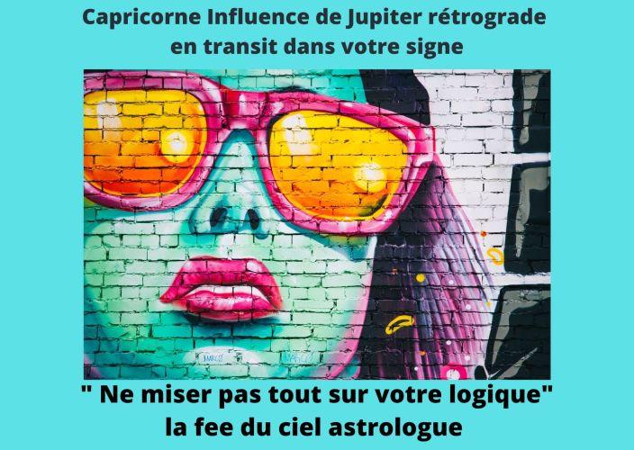 Capricorne Influence de Jupiter Rétrograde en transit dans votre signe