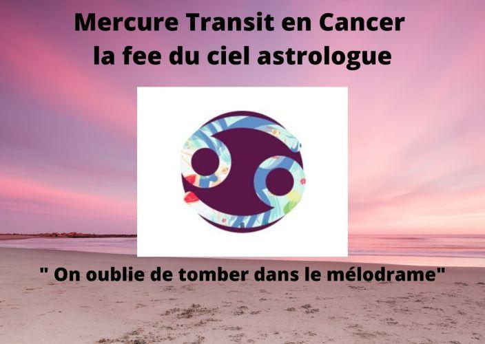 Mercure Transit en Cancer