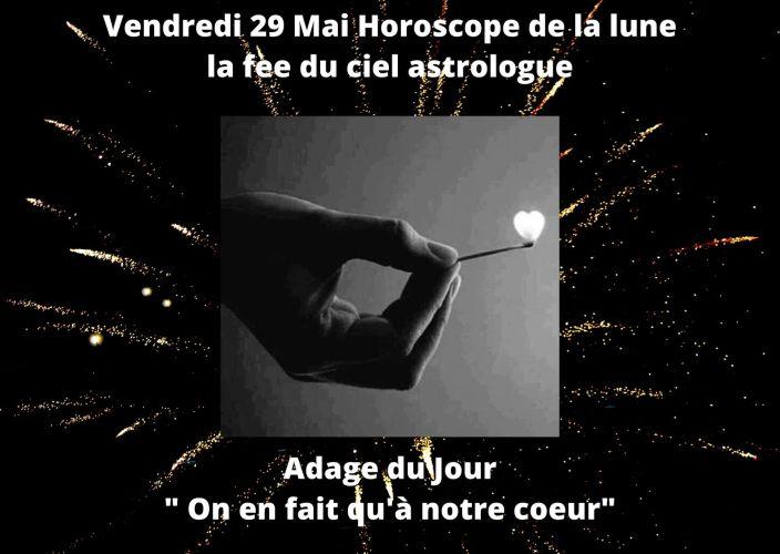 Horoscope de la lune du 29 Mai 2020