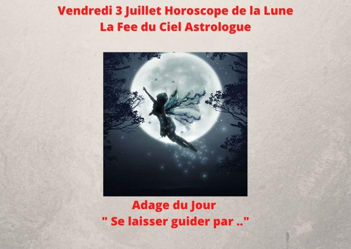 Horoscope de la Lune du 3 Juillet 2020