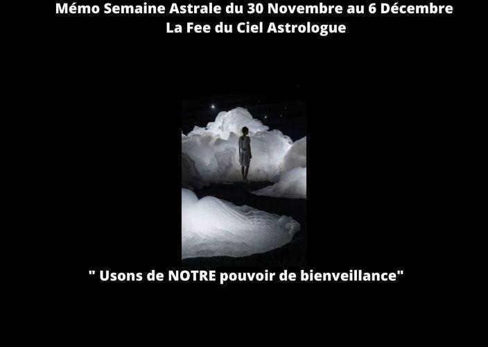 Semaine Astrale du 30 Novembre au 6 Décembre 2020