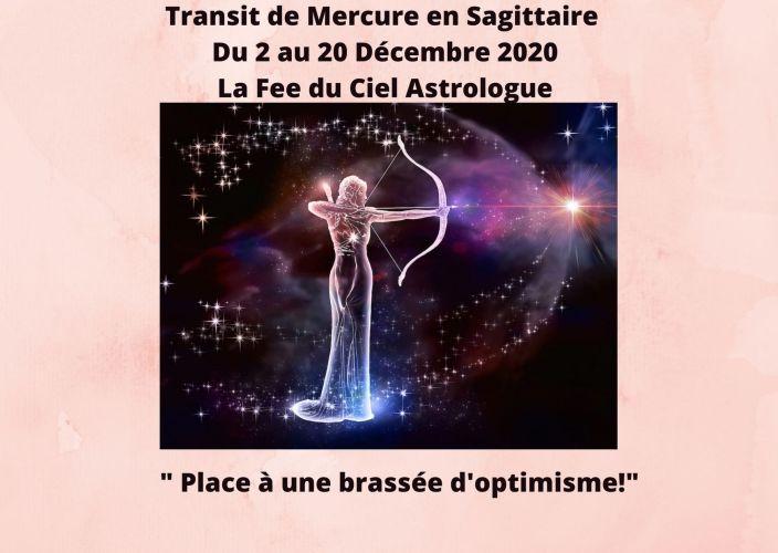 Mercure Transit en Sagittaire