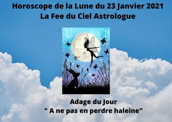 Horoscope de la Lune du 23 Janvier 2021