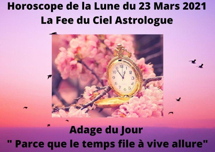 Horoscope de la Lune du 23 Mars 2021