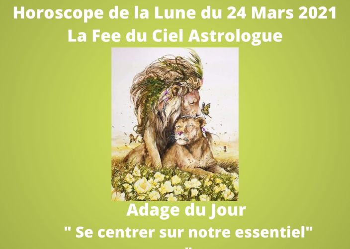Horoscope de la Lune du 24 Mars 2021