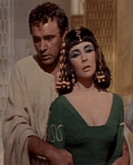 Richard Taylor and Elizabeth Burton
