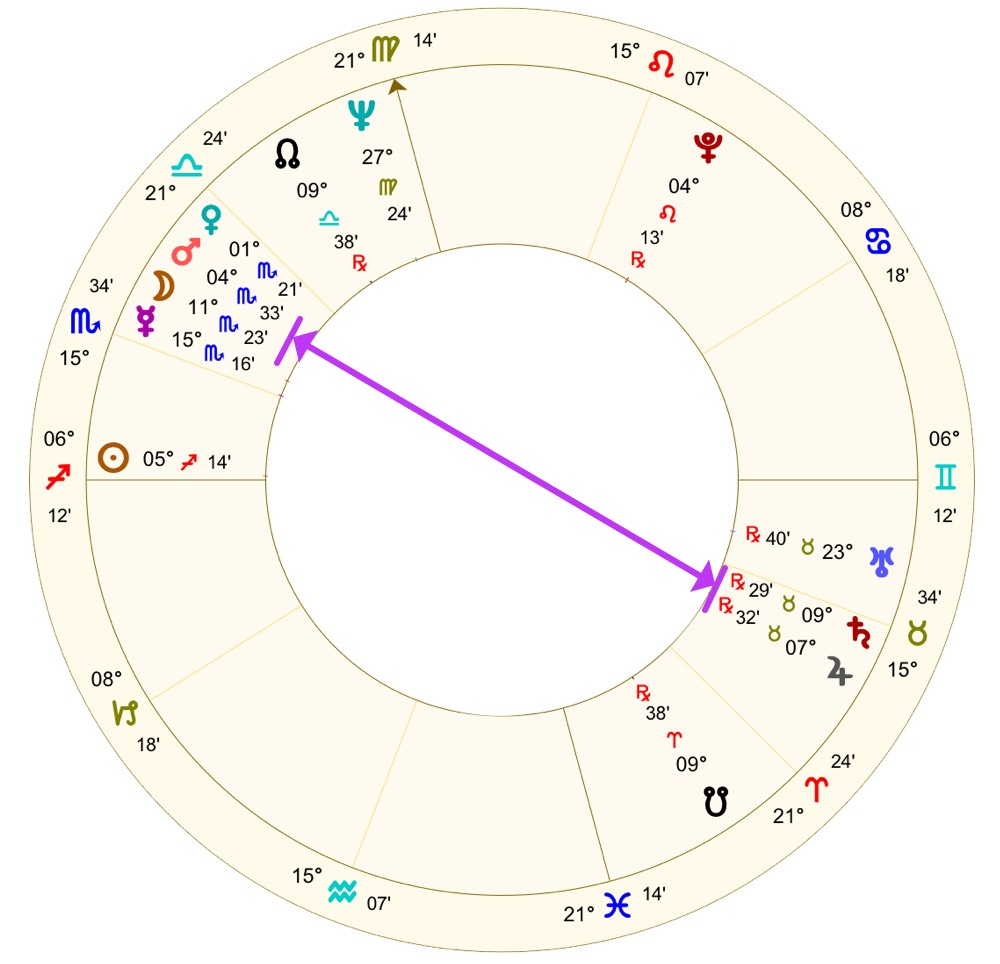 Bruce Lee's horoscope | Astrology School