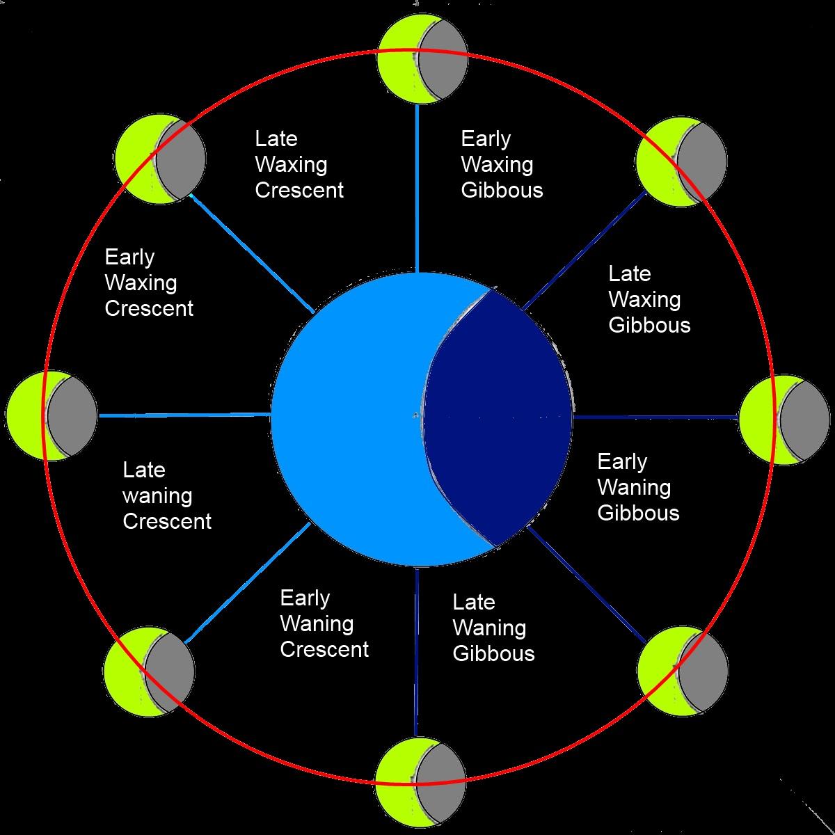 Moon Cycle Monthlycalendar