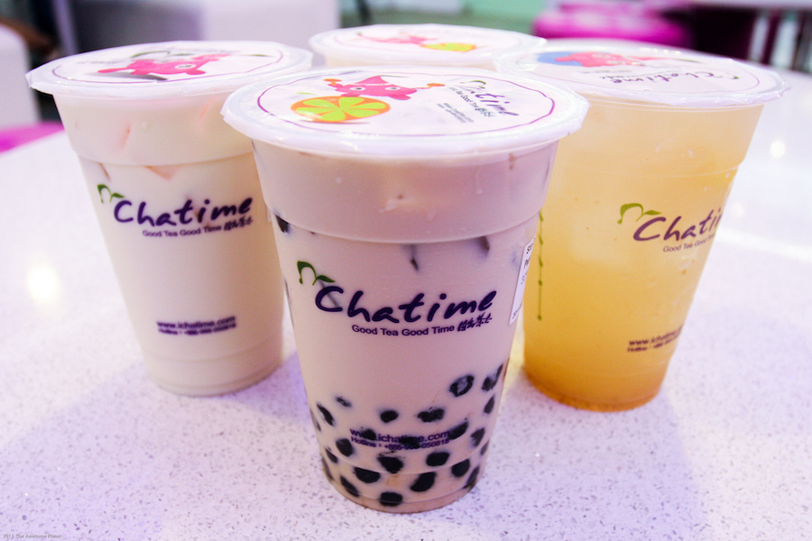 Milk Tea Hasil Aplikasi Mesin Cup Sealer