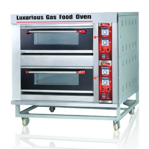 OVEN GAS FOMAC 2 DECK