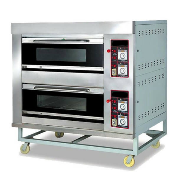 OVEN GAS ROTI 2 DECK
