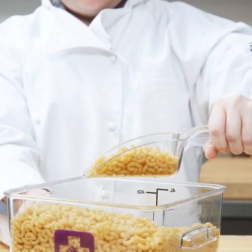 Aplikasi Penggunaan polycarbonate scoop