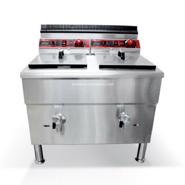 GAS DEEP FRYER 34 LITER FOMAC