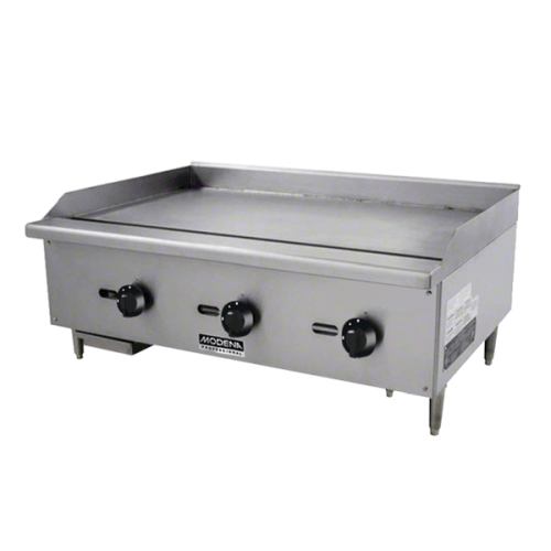 GAS GRIDDLE MODENA 3 BURNER
