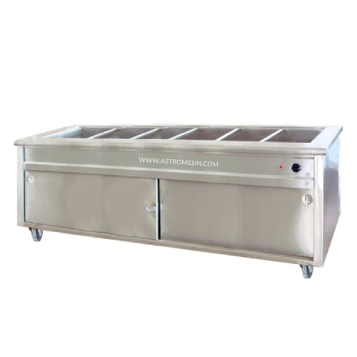 MESIN BAIN MARIE COUNTER GETRA