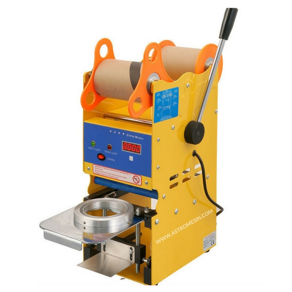 MESIN CUP SEALER MANUAL DIGITAL POWERPACK
