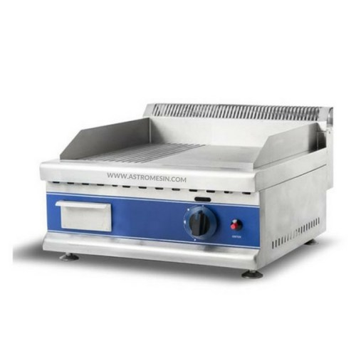 MESIN GAS GRIDDLE GROOVED TABLE TOP