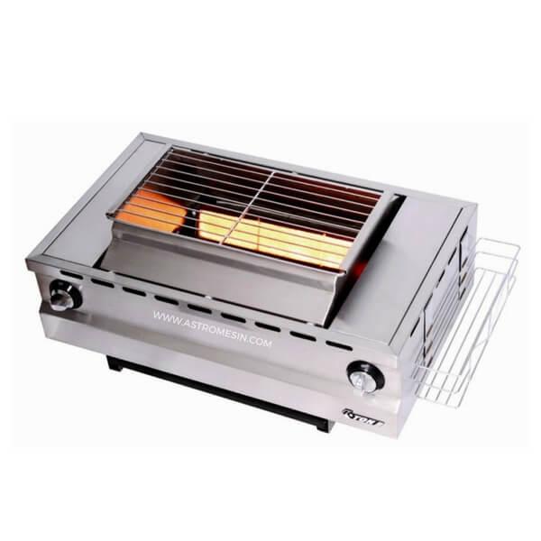 Mesin Panggang Tanpa Asap Gas Roaster ASTRO
