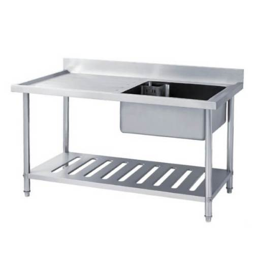 Sink Table Stainless Steel Pencuci Piring GETRA