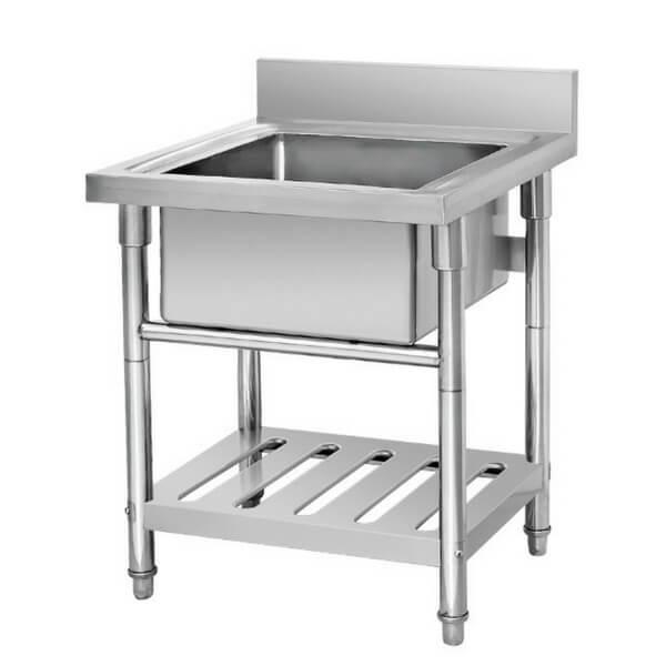 Sink Table Stainless Steel Pencuci Piring