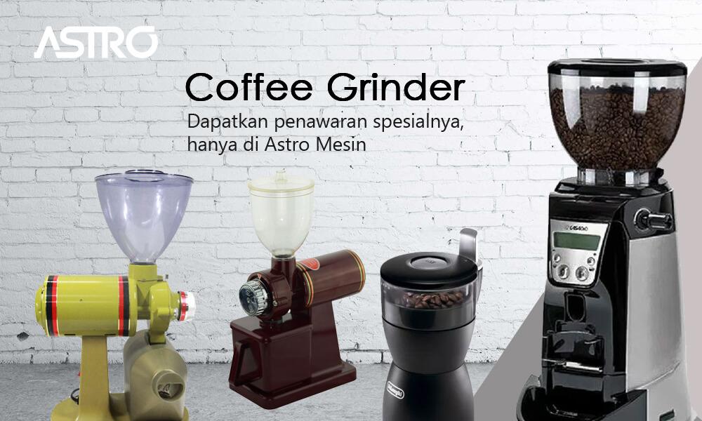 Banner Coffee Grinder - Mesin Giling Kopi