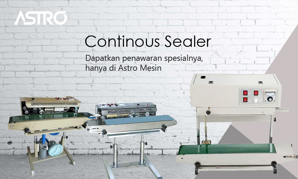 Banner Mesin Continuous Sealer