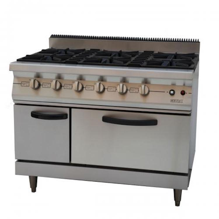 Gas Open Burner GETRA RBJ 6