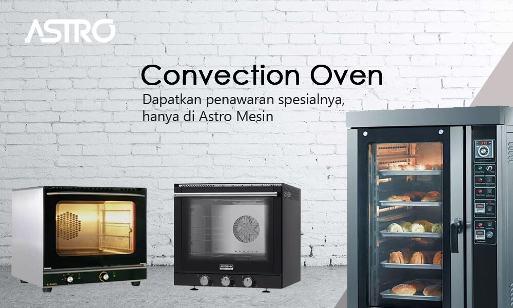 Banner Mesin Convection Oven