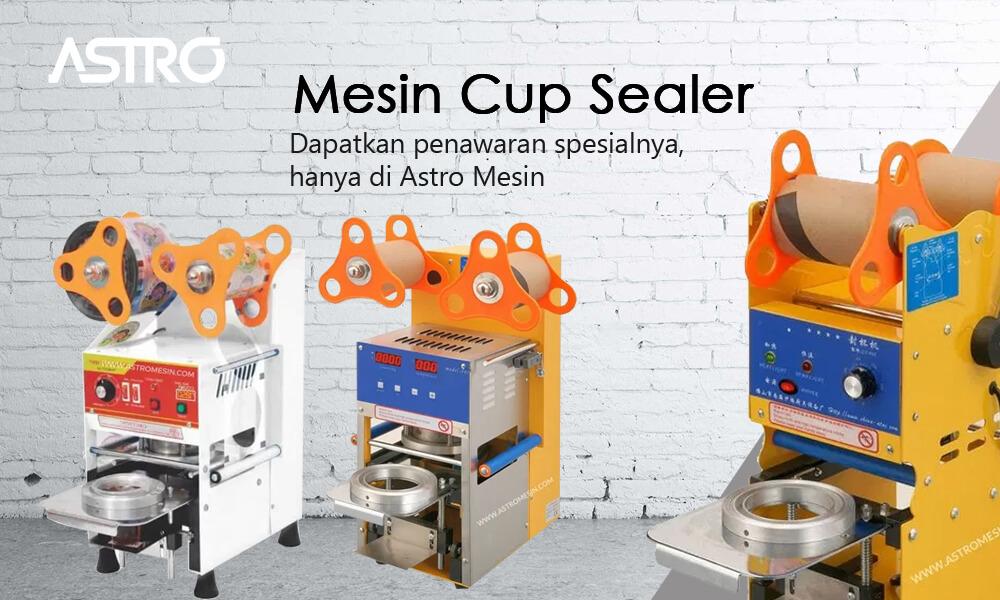 Banner Mesin Cup Sealer