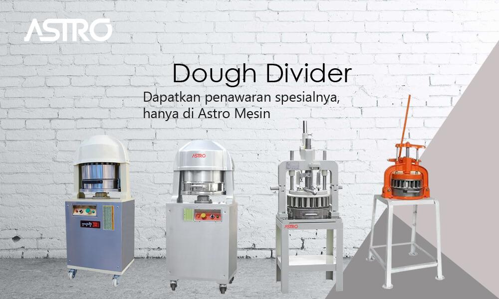 Banner Mesin Dough Divider