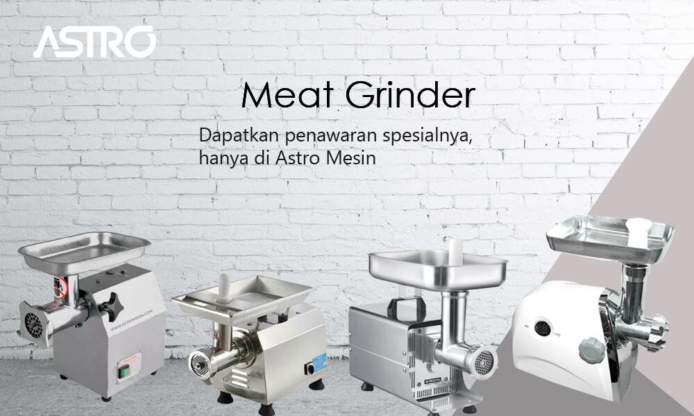 Banner Mesin Giling Daging - Meat Grinder