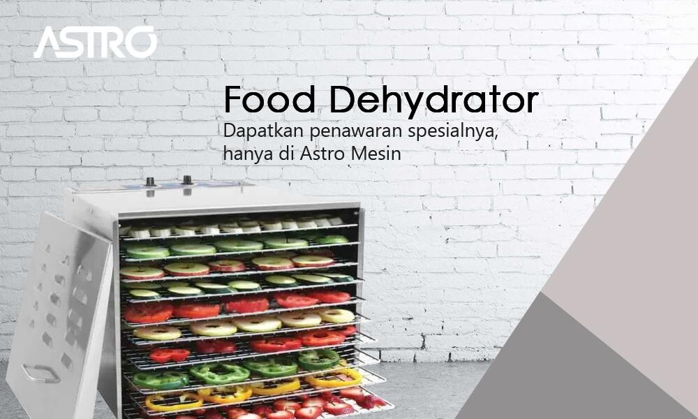 Banner Mesin Pengering Makanan Food Dehydrator