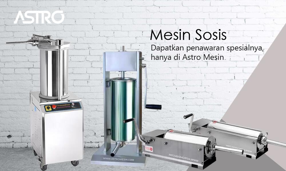 Banner Mesin Sosis / Mesin Cetak Sosis