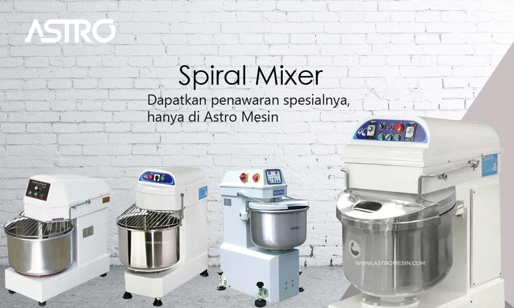 Banner Spiral Mixer