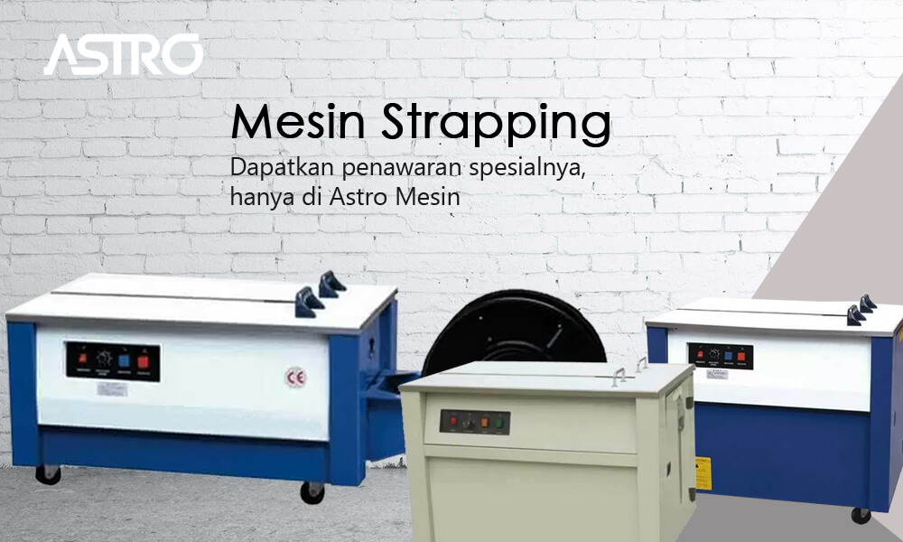 Banner Mesin Strapping