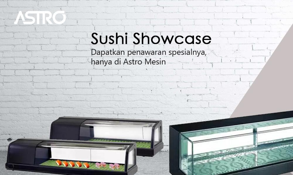 Banner Mesin Sushi Showcase