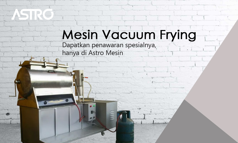 Banner Mesin Vacuum Frying