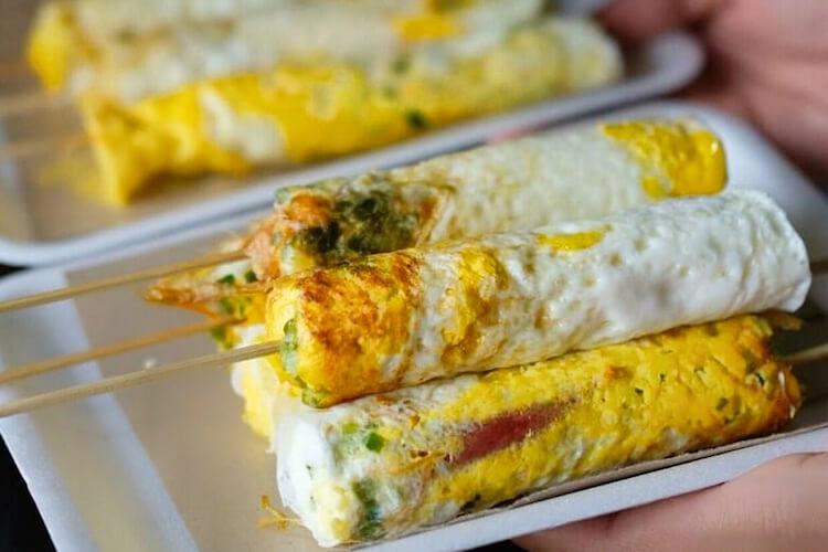 Egg Roll Sosis Telur