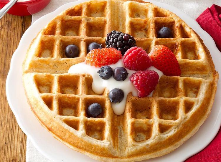 Kue Waffle Es Krim