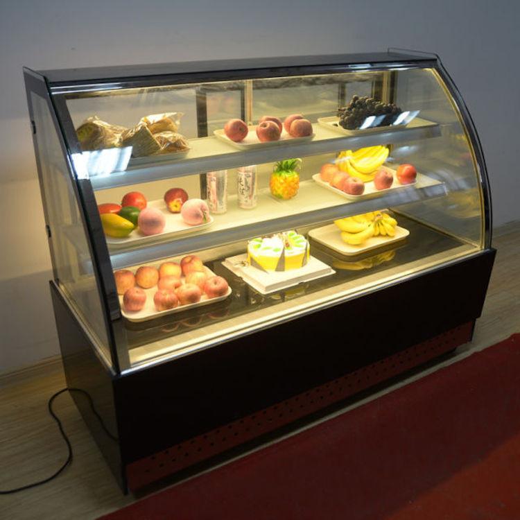 Mesin Pemajang Kue Cake Showcase