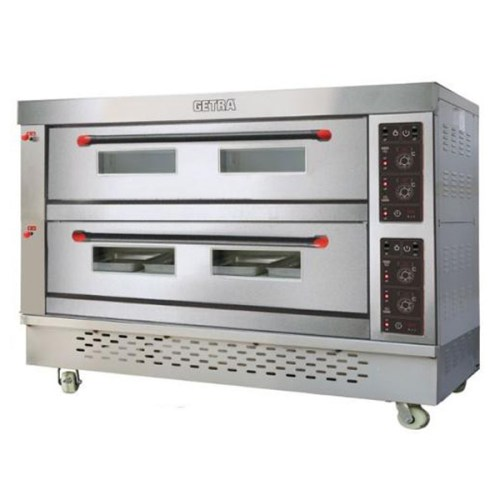 Oven Gas Getra 2 Deck 6 Tray RFL 26SS