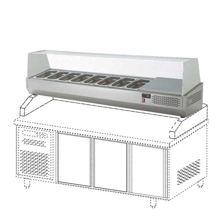Counter Top Salad Case Bar