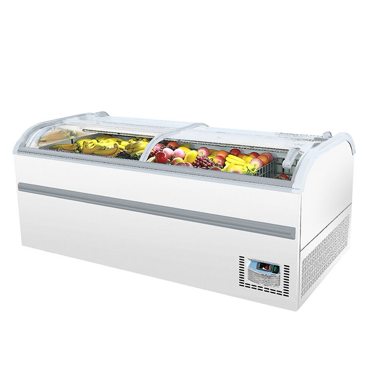 Island Freezer Sliding Kaca GEA
