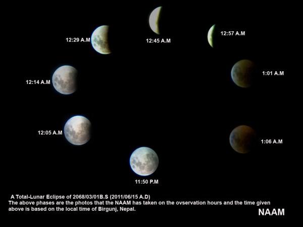 2011-Total Lunar Eclipse from Nepal | Nepali Association ...