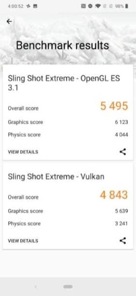 3D Mark Sling Shot Extreme