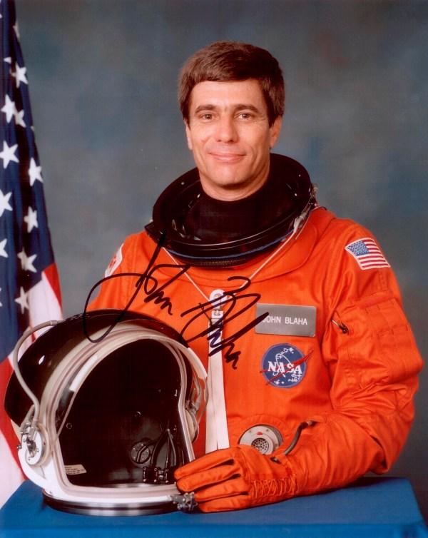 Blaha John Autographed Print Astronaut Scholarship